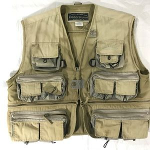 Field and stream fishing/outdoor vest